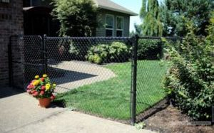 Wentzville Missouri Chain Link Fence Installation