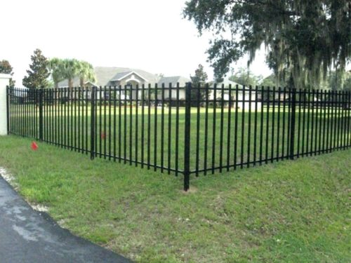 wentzville mo iron fence contractor