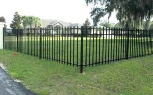 Wentzville O'Fallon MO Iron Fence Install Professional